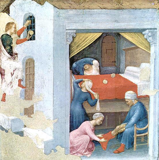 Святой Василий - прототип греческого деда Мороза
